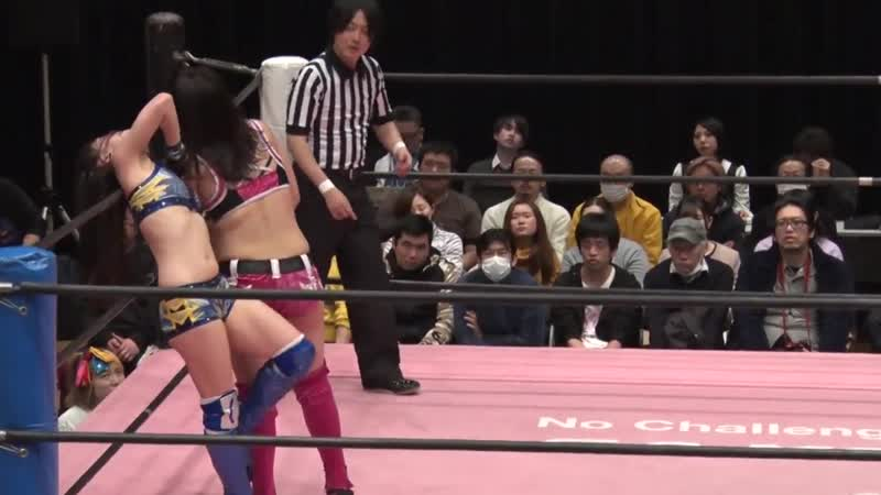 Hikari Noa vs Miyu Yamashita TJPW Tokyo Joshi 2019 Winter ~ High Score ~