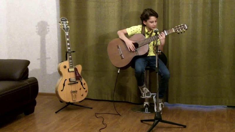 Beatles Let it be Performed by Nikusha Gagnidze 11 Years Old