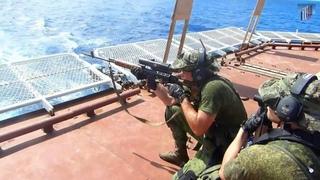 Подразделения СпН ВС России в Аденском заливе