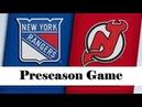 New York Rangers vs New Jersey Devils | Sep.20, 2019 | Preseason | Game Highlights | Обзор матча