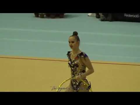 Anna KAMENSHCHIKOVA (BLR) hoop - 2019 Trofeu de Barcelona