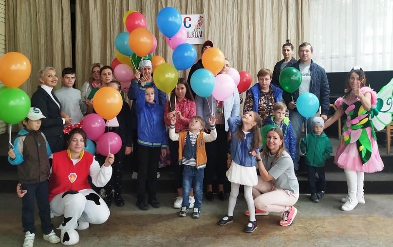 Отель Yalta Intourist организовал праздник для детей подшефного центра реабилитации