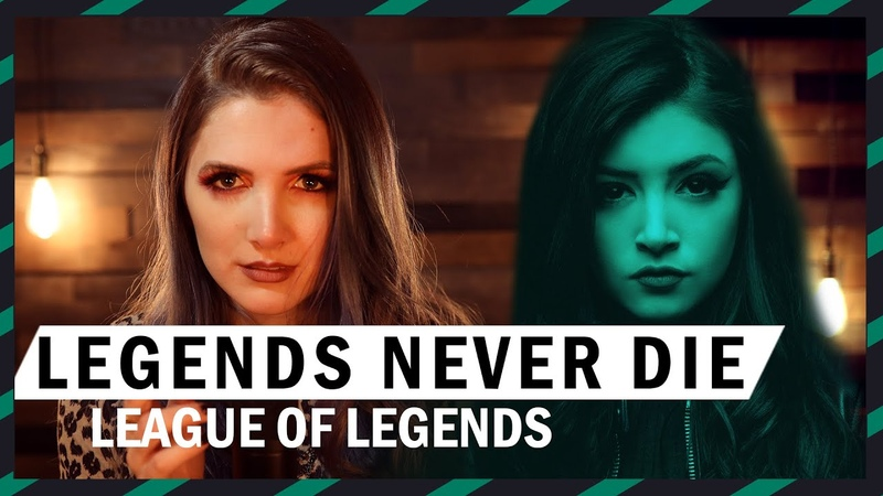 Legends Never Die Against The Current Cover by Halocene
