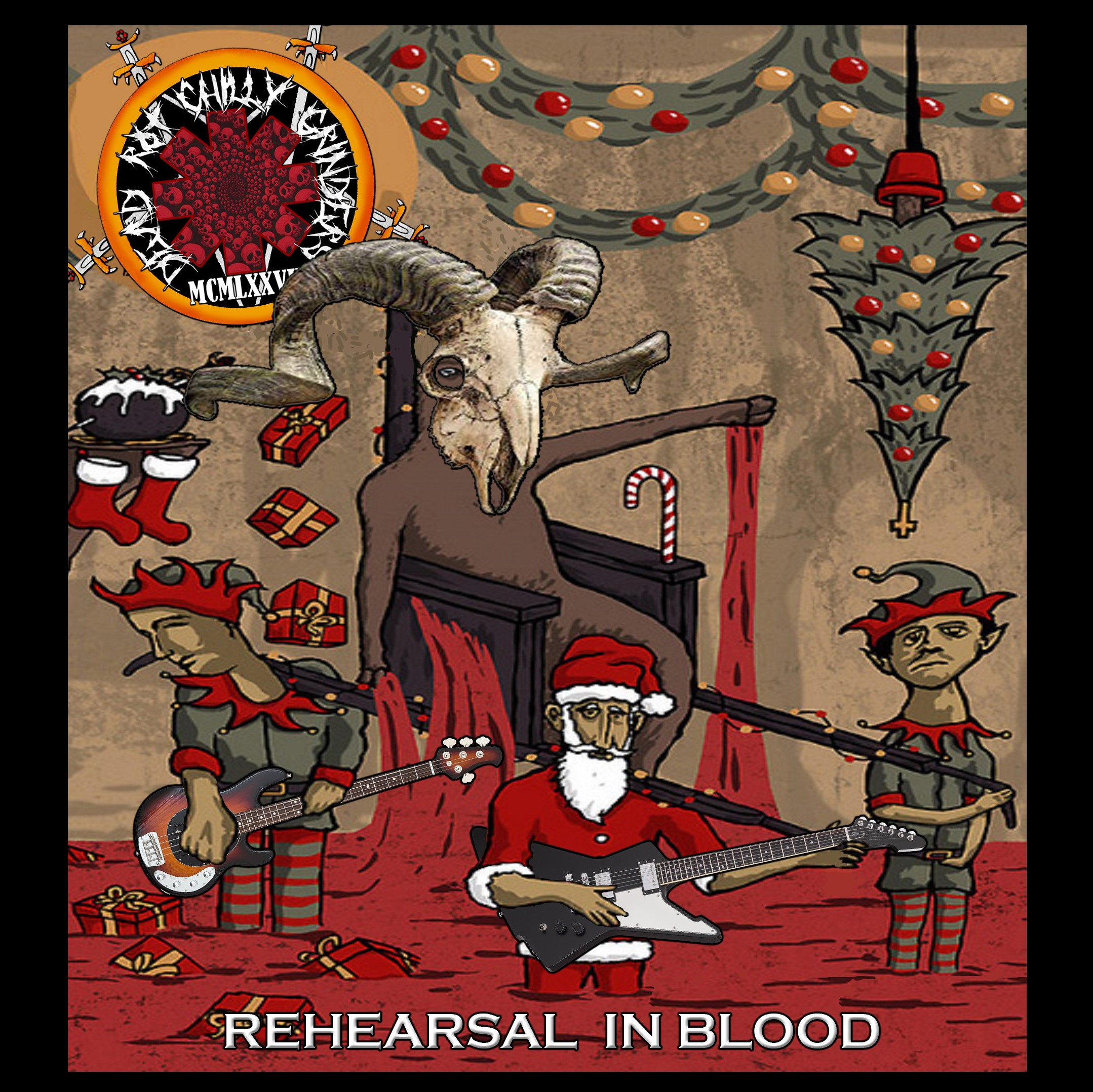 Dead Rot Chilly Grinders - Rehearsal In Blood [EP]
