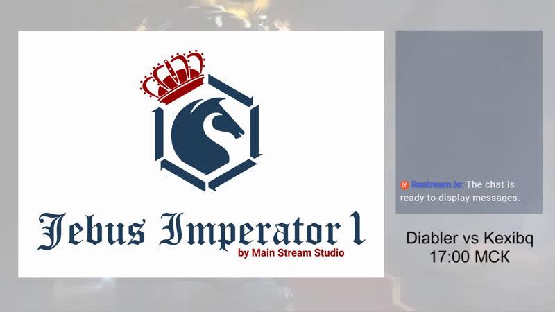 Jebus Imperator I. Diabler vs Kexibq, bo3. Комментируют Профайлер и КлонКлопа