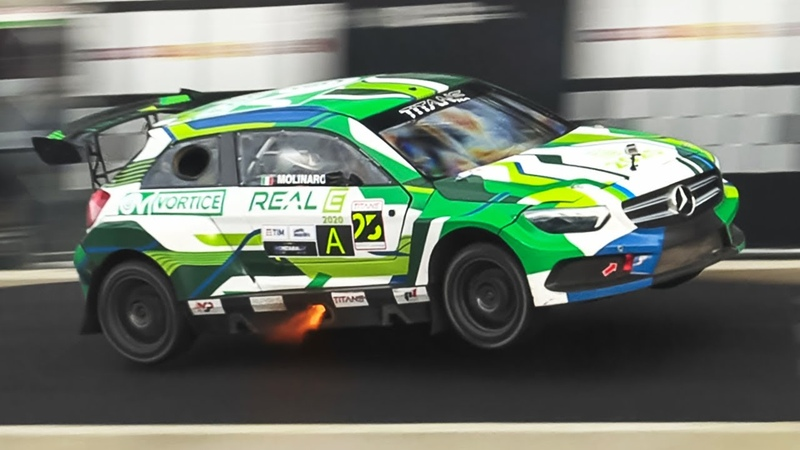 Pantera RX6 Rallycross Supercar w 530HP Ford EcoBoost 2 3L Engine at Monza Rally Show