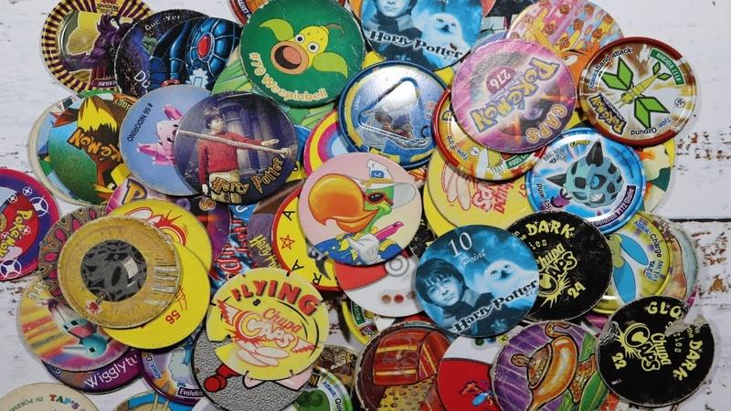 Фишки Кепсы Cотки Tazo Pokemon Harry Potter Chupa Caps 8