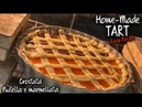 How To Make Tart - CROSTATA Nutella and Marmellata (ready in 45 min)