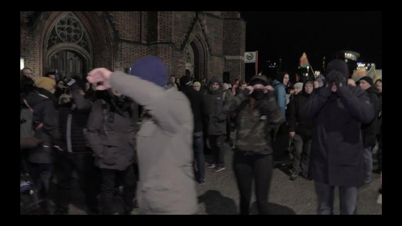 Demo gegen Rechts Antifa Angriff auf Journalisten Olli in Gefahr