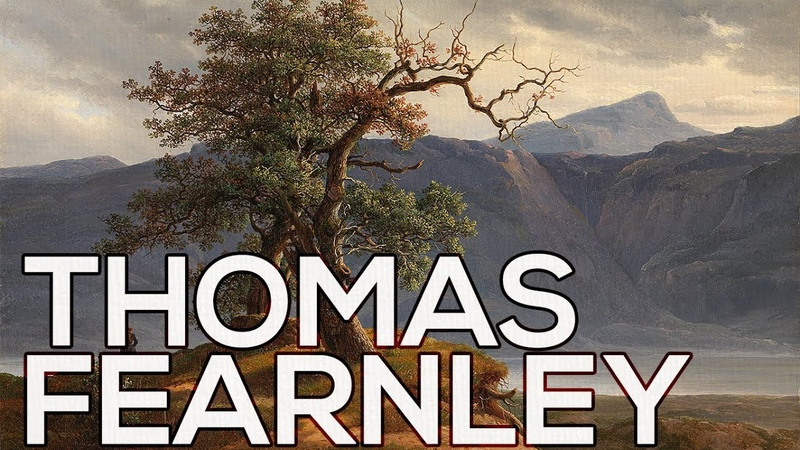 Thomas Fearnley A collection of 51 paintings HD