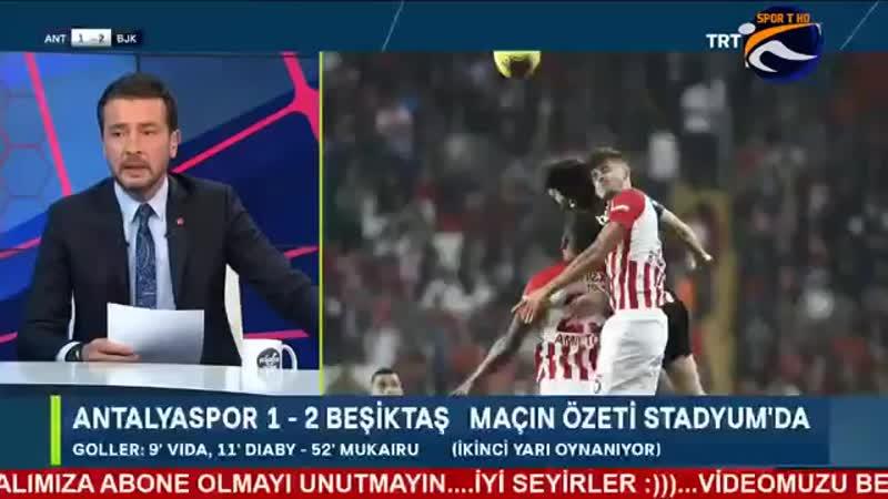 Antalyaspor 1-2 Beşiktaş _ Tümer Metin ve Ayhan Akman Yorumları.mp4
