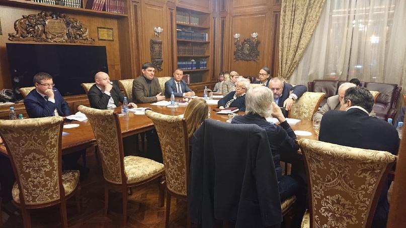 Совмещённое заседание профессорского клуба и конституционного клуба, изображение №1