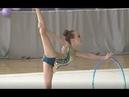 ГАРКАВЕНКО ВАРВАРА 2007 ОБРУЧ Художественная гимнастика, Rhythmic gymnastics