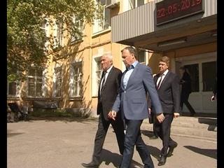 На Серовском механическом заводе побывали руководители области