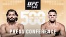 UFC 244 Press Conference