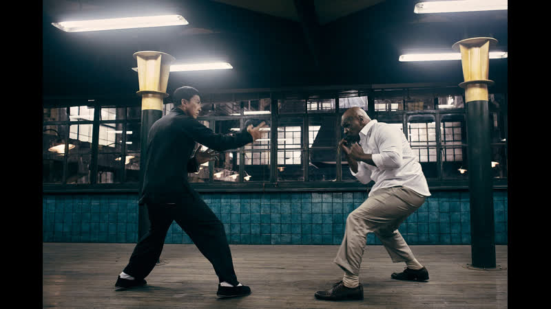 Ip Man vs Mike Bison with Street Fighter 2 sounds