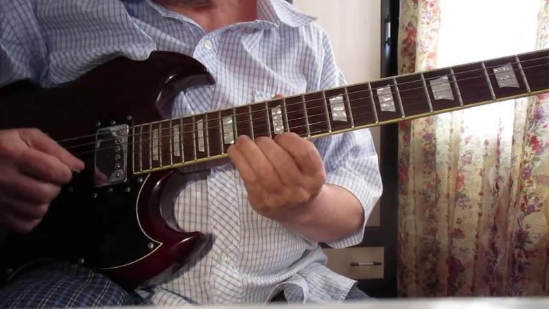 Мелодия из к ф Крестный отец на электро гитаре