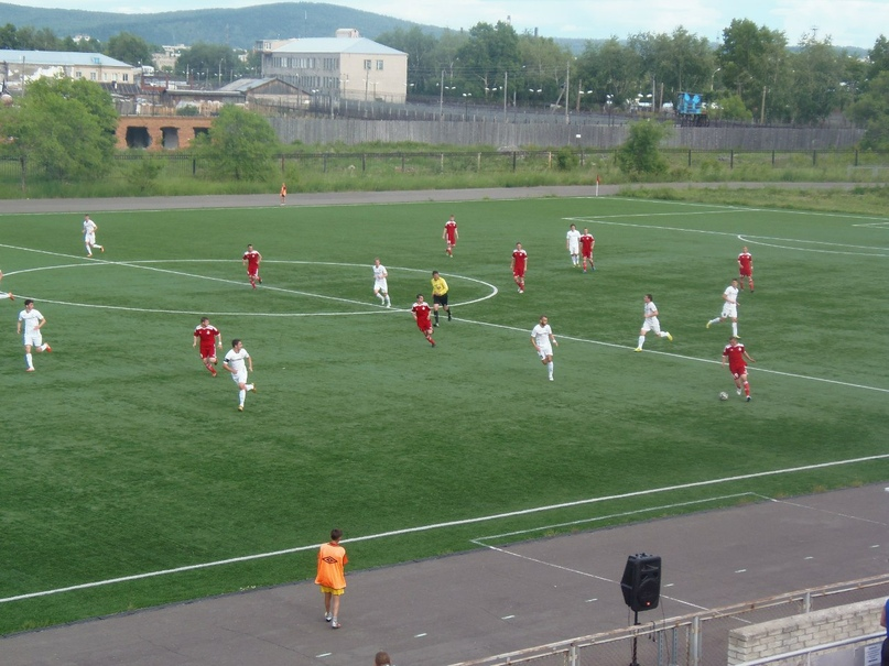 Стадион «Металлург» в Комсомольске-на-Амуре