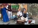 Niranjana Swami Harinama on Istiklal street in Istanbul Turkey FULL 7 Oct 2019