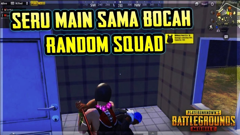 PUBG Seru Main Sama Bocah Random Squad
