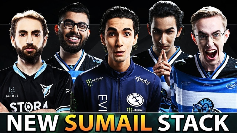Quincy Crew NEW SumaiL Stack with CCnC YawaR MSS SVG SumaiL from Mid to Carry Role