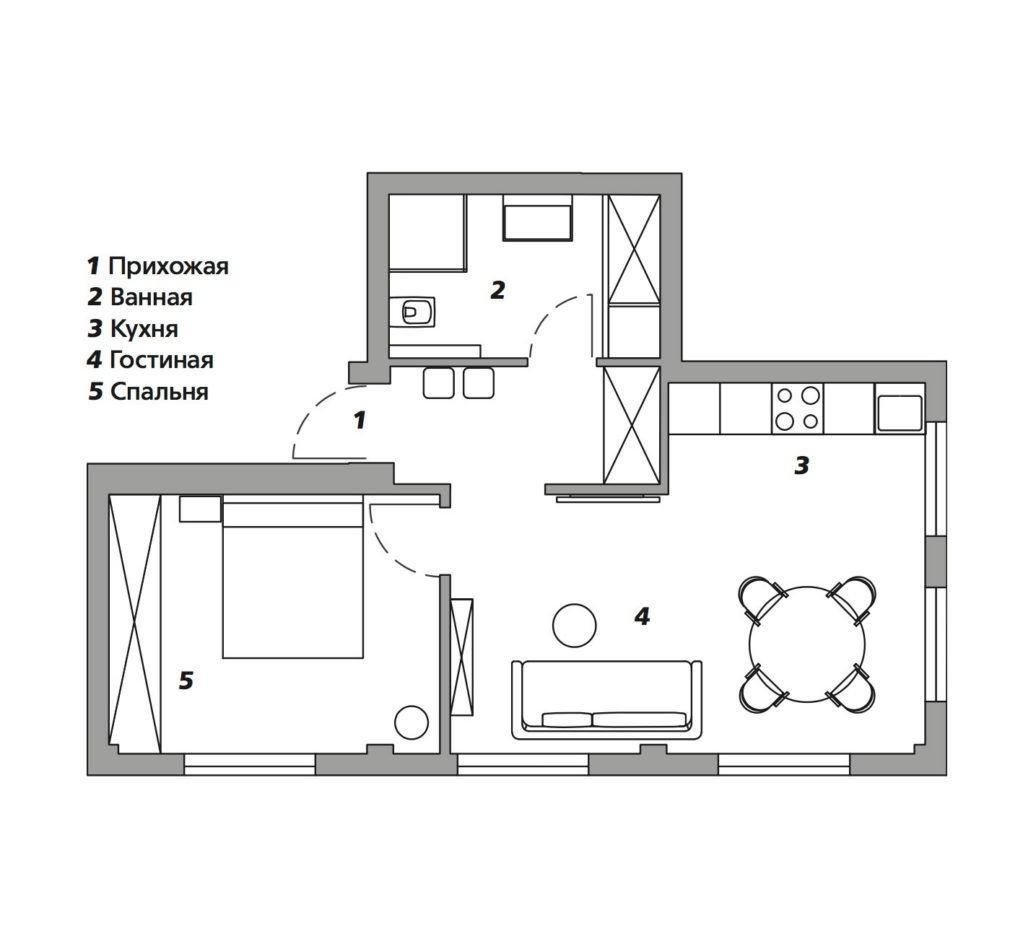 Квартира супер и по дизайну и по проекту