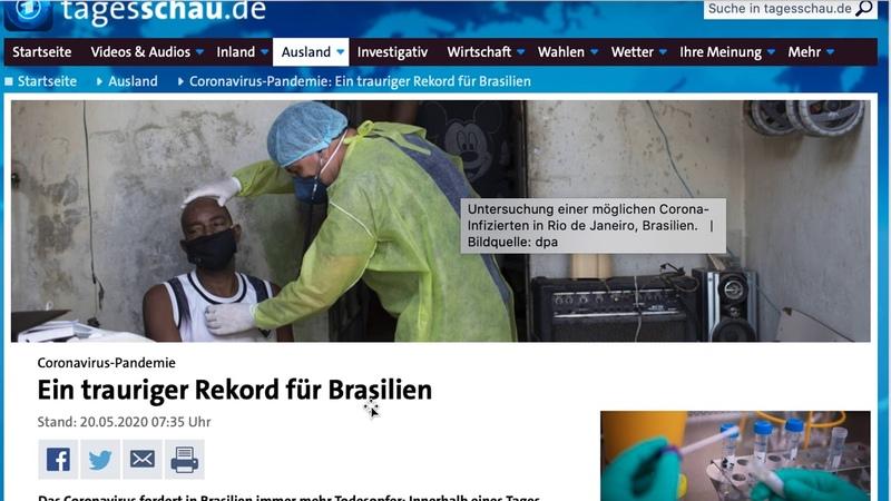Corona 47 - Drosten regt sich auf - Brasilien, Zahlen Deutschland, Ramelow will Lockdown beenden
