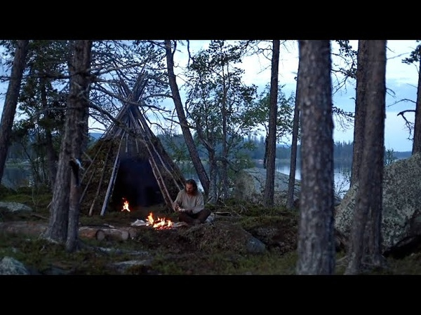 Highlights from a summer spend alone in the wild making tipi, fishing, blacksmithing, bushcraft etc.