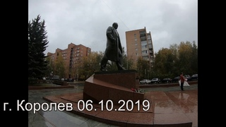 г. Королев Одиночные пикеты Союза инициативных групп у памятника С.П. Королеву.