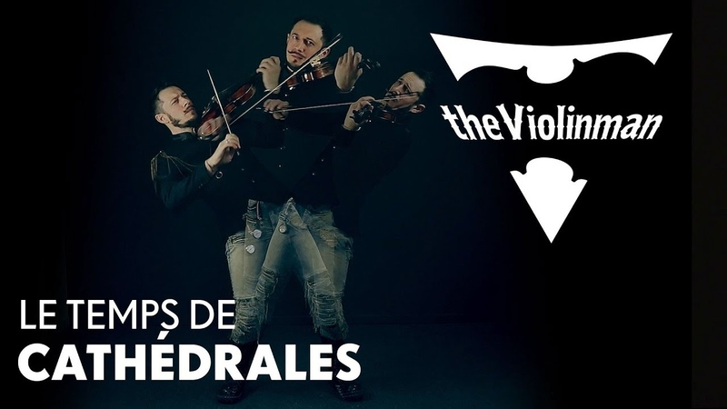 Notre Dame Le Temps de Cathedrales cover by theViolinman ft Live Bells of Notre Dam