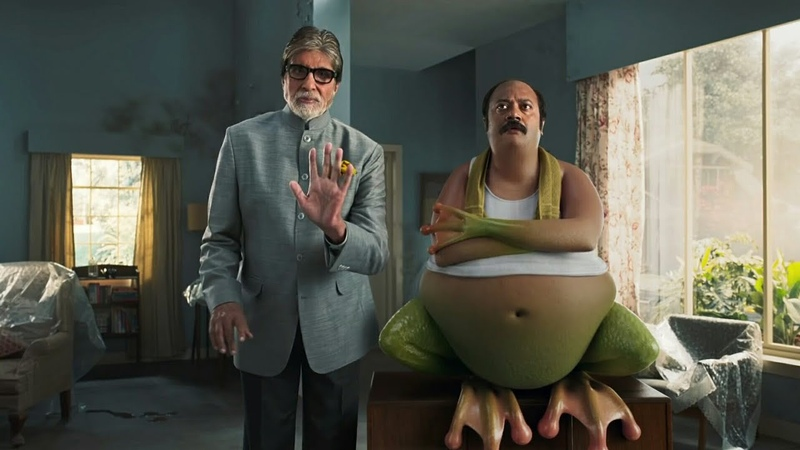 DR fixit all funny ads amitabh bachan new ad latest advertisement frog octopus turtle dr fixit