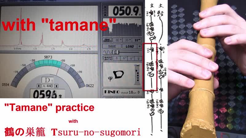 Изучаю технику Tamane в пьесе Tsuru no Sugomori про журавлей