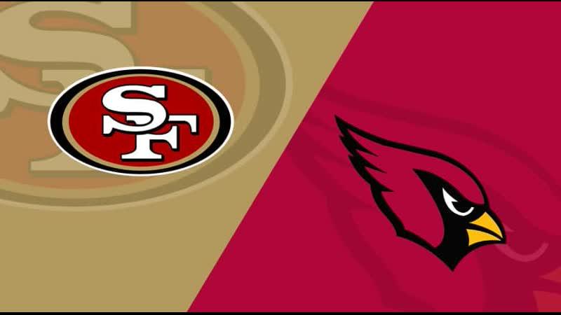 NFL 2017-2018, Week 04, San Francisco 49ers - Arizona Cardinals, EN