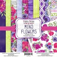 Набор скрапбумаги Mind Flowers 30,5x30,5 см 10 листов 358 р В наличии 1 шт.
