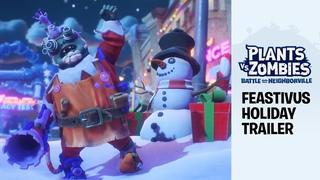 Plants vs. Zombies: Battle for Neighborville – Feastivus Holiday Trailer ft. Sir Patrick Stewart