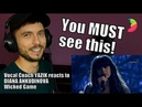 Vocal Coach YAZIK reacts to Diana Ankudinova Wicked Game Диана Анкудинова
