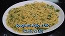 Italian Grandma Makes Spaghetti Aglio e Olio (Garlic Oil)