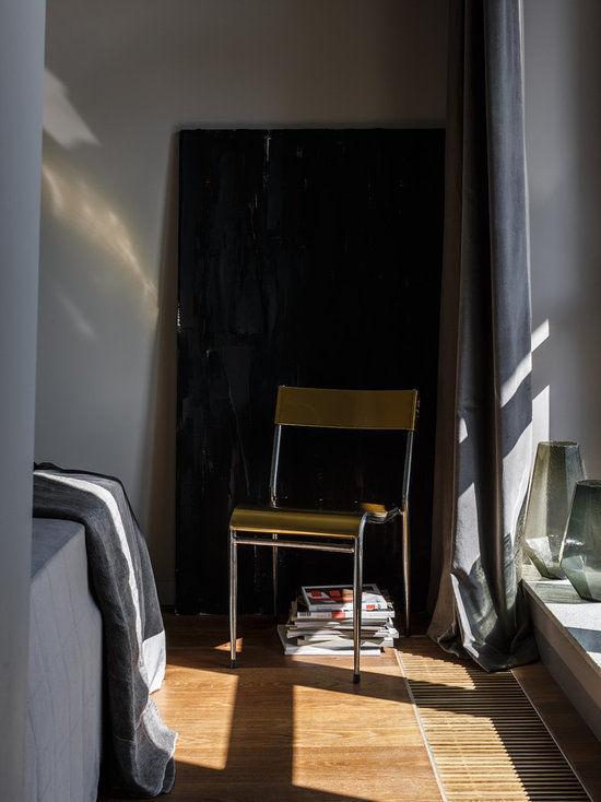 Монохромная квартира по проекту бюро Studio 8, 45 м²