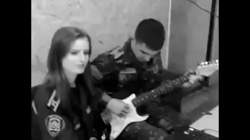 JA uhozhu pesni pod gitaru