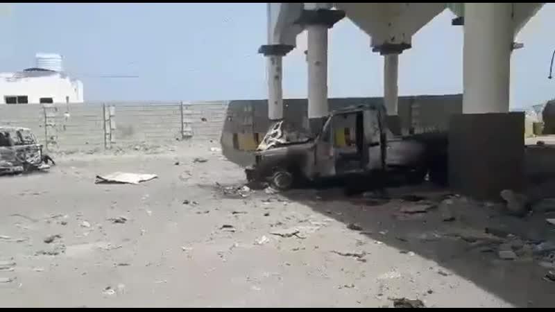 ВВС ОАЭ нанесли удар по хадистам в Адене 30 августа 2019 го 3