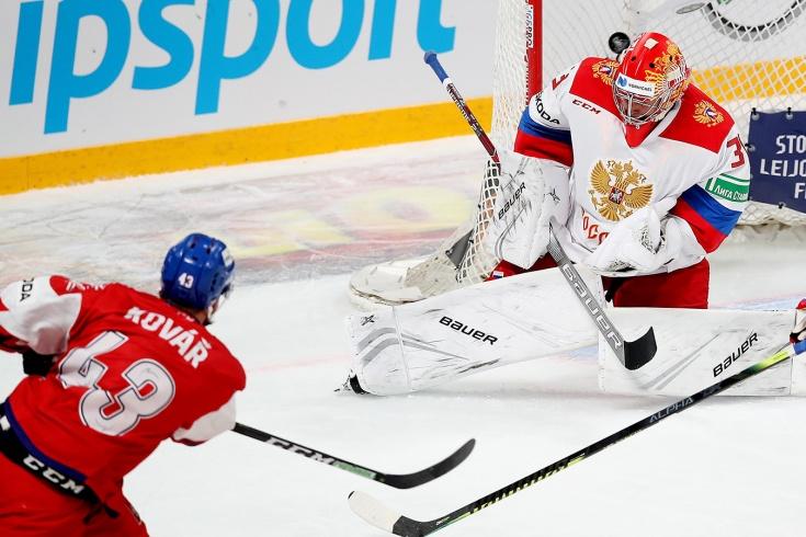 Россия проиграла Чехии на Кубке Карьяла (Видео)