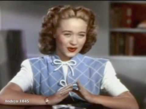 Jane Powell JE VEUX VIVRE from Gounod's Romeo and Juliet