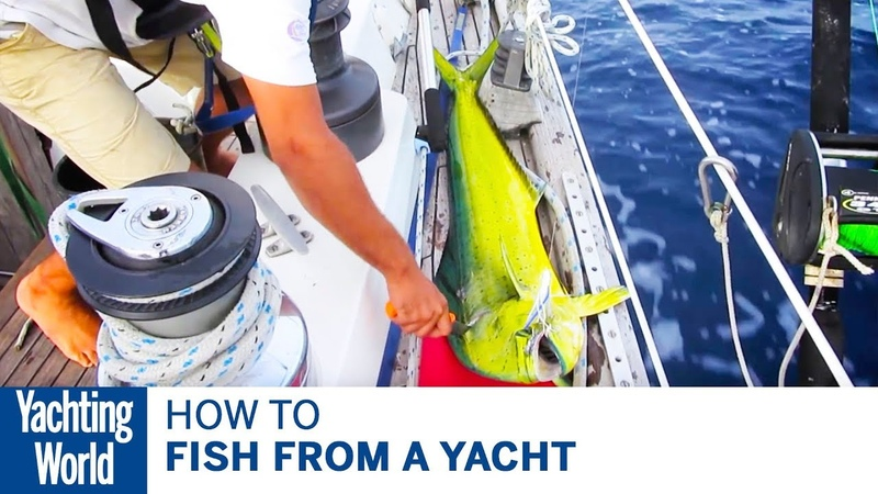 How to fish from a yacht - Yachting World Bluewater Sailing Series   Yachting World