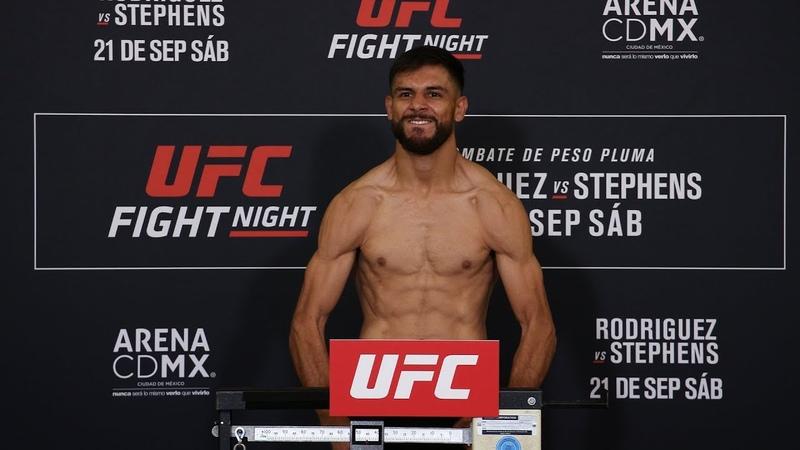Взвешивание участников турнира UFC Мексика
