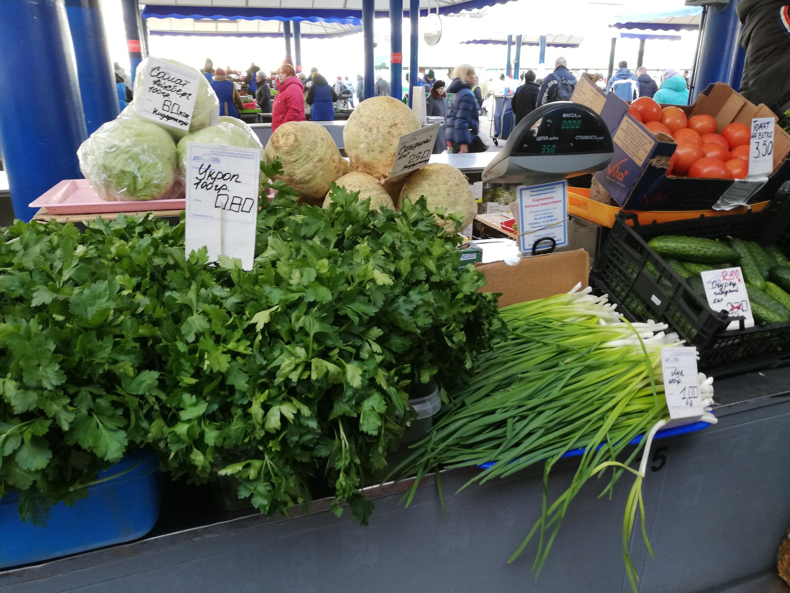 Что по чем на минском рынке Минск,рынок,зима