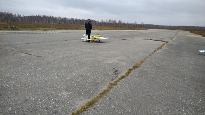 M78 Взлет самолета в Турлатово