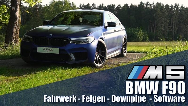 BMW M5 F90 - Fahrwerk/Felgen/Downpipe/Software