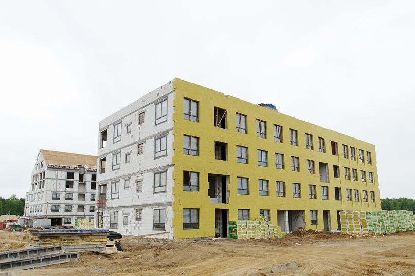 Отчет о ходе строительства квартал «Среда» май 2020, изображение №14