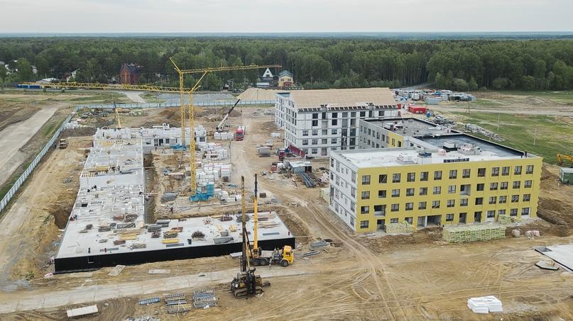 Отчет о ходе строительства квартал «Среда» май 2020, изображение №28