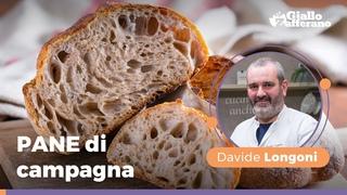 PANE di campagna FACILE: la ricetta di Longoni con LIEVITO MADRE. Non potrai più farne a meno